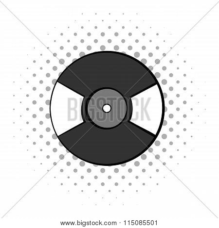Gramophone vinyl LP record icon