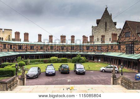Living Quarters For Staff  In Windsor Castle