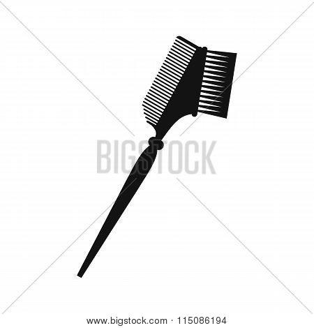 Bilateral comb black simple icon