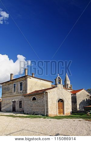 Small Church In Kringa, Croatia.