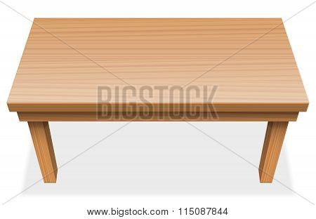 Long Table Wooden Texture