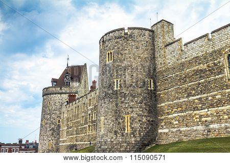 Curfew Tower, Part Of  Lower Ward In Medieval Windsor Castle