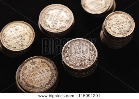 Silver Coins Of Imperial Russia