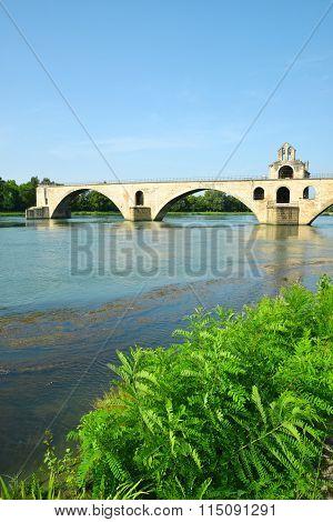 Pont Saint-Benezet in Avignon