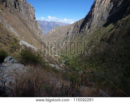 Trekking Santa Cruz In Cordillera Blanca In Peru