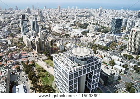 Tel Aviv View From The Top