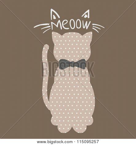 cutie cat illustration 1