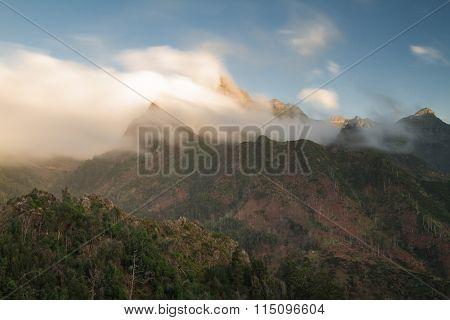 Viewpoint at Boca Encumeada - Long exposure version Madeira Portugal