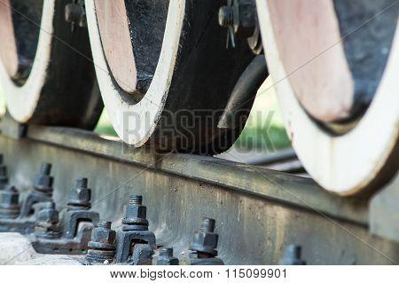 Train Wheel Brake