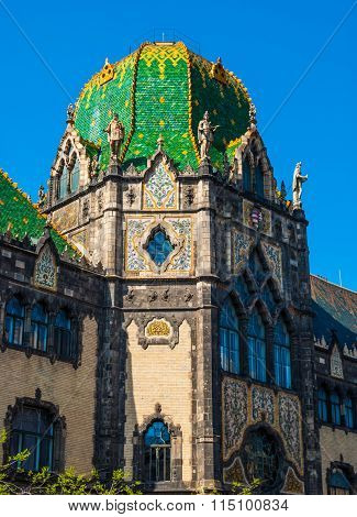 Museum of Applied art, Budapest