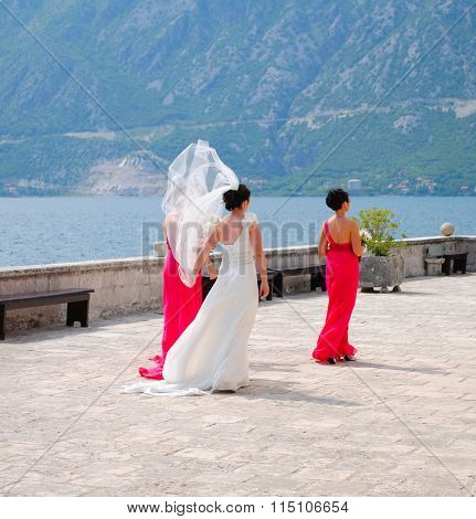 Magnificent Wedding Ceremony In The Bay Of Kotor