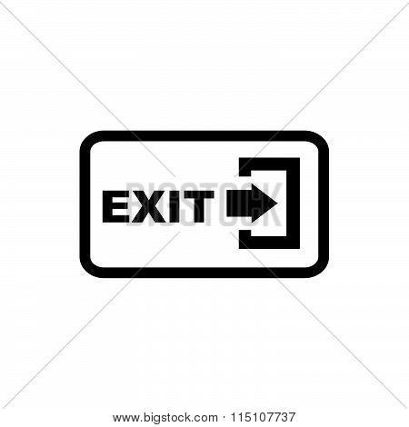 Arrow Logout Exit Icon