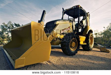 Excavator construction machinery