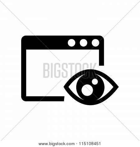 Investigate On Computer  Icon