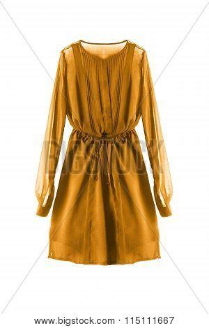 Chiffon Dress Isolated
