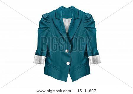 Silk Jacket Isolated