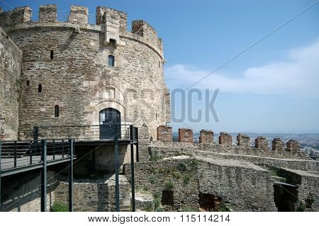 Old Tower In Thessaloniki