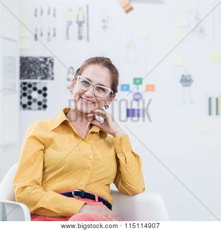 Woman And Her Modern Business