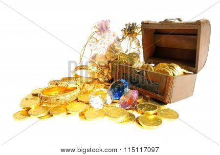 Lot of  gold