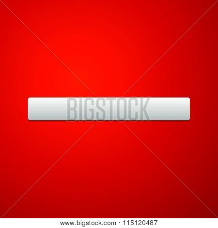 Red Prohibition, Restriction Sign. Eps10 Vector Illustration.