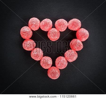 Candy Heart Love