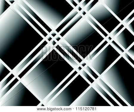 Abstract Shattered Surface Pattern / Texture. Grayscale Vector Art.