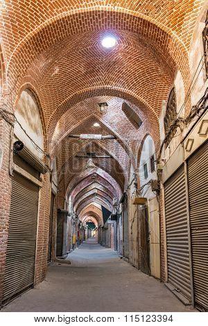Bazaar of Tabriz was inscribed as World Heritage Site