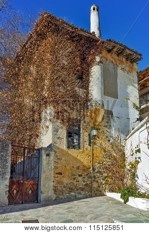 old house in town of Xanthi, East Macedonia and Thrace