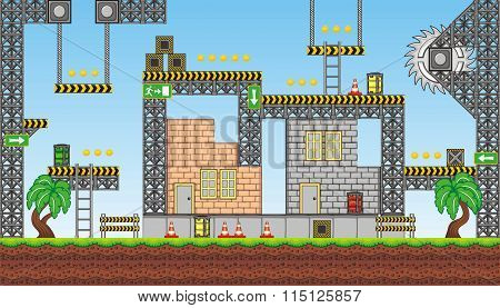 Platform Game Tileset  2.eps