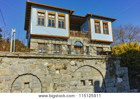 Typical house from ottoman period in Xanthi, East Macedonia and Thrace