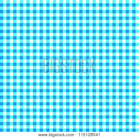 Colored Plaid, Tartan Pattern With Simple Geometry. Vector.