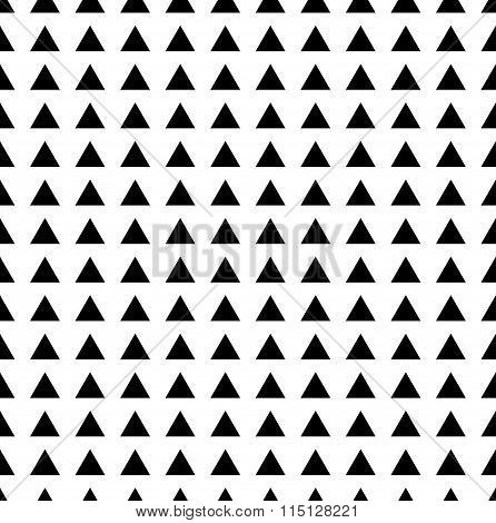 Continuous Background Pattern With Triangle Shapes. Vector.