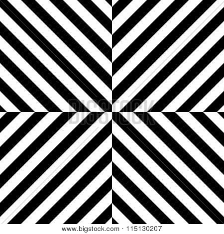 Seamless Pattern With Regular, Diagonal Lines Forming An X Shape.