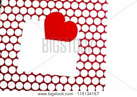 Valentine's Day Greeting Letter Envelope