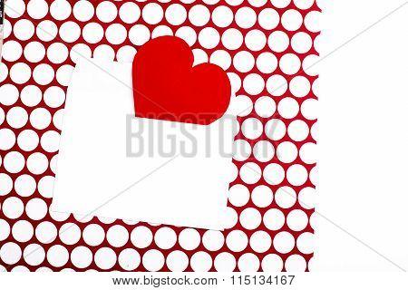 Valentine's Day Greeting Letter Envelope