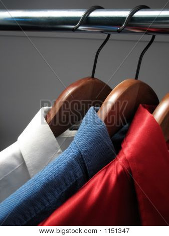 Shirts Representing Russian Flag