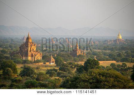 Plain of Bagan(Pagan), Mandalay, Myanmar