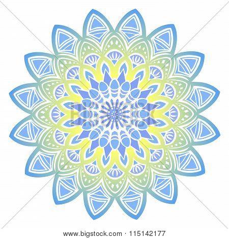 Mandala. Decorative elements.