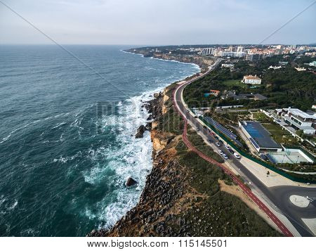 Boca do Inferno (Portuguese for Hell's Mouth), Cascais, Portugal