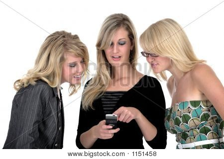 Three Business Woman On Phone 2