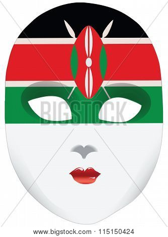 A Symbolic Mask Of Kenya