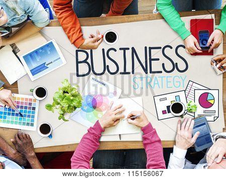 Business Strategy Marketing Operations Plan Development Concept