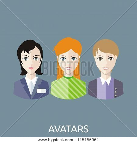 Reception Manager Avatars