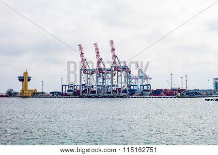 ?argo Cranes In The Port