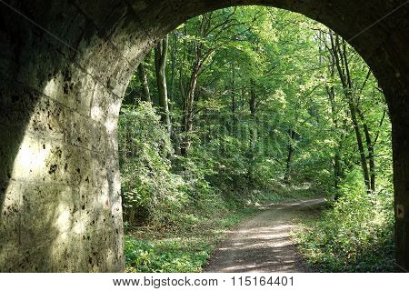 Tunel Under Railway