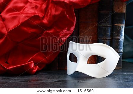 Mask And Book