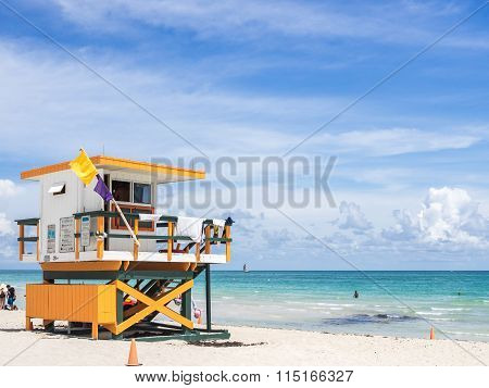 The Miami Lifeguard Tower