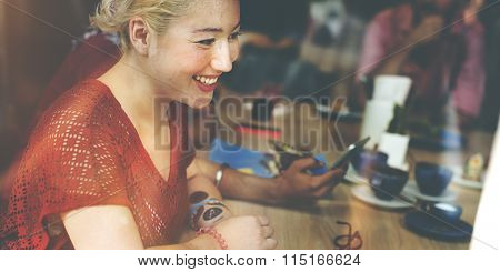 Cafe Casual Communication Relation Relaxing Concept