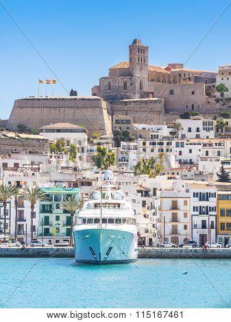 A Little Boat In Ibiza