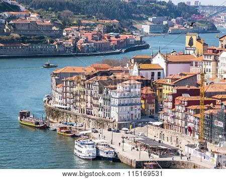 The Ribeira From The Distance